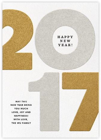 New Year cards - online and paper - Paperless Post | SKF holiday ...