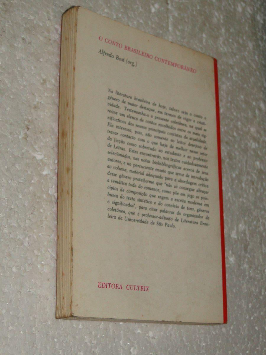 livro conto brasileiro contemporâneo- alfredo bosi- lojaabcd