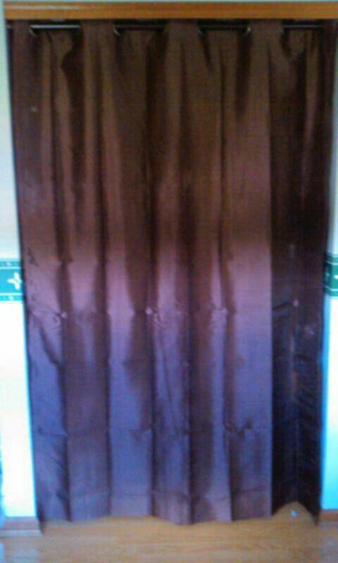 Diy Fancy Shower Rod Window Curtain Easy Fix For Broken Kitchen