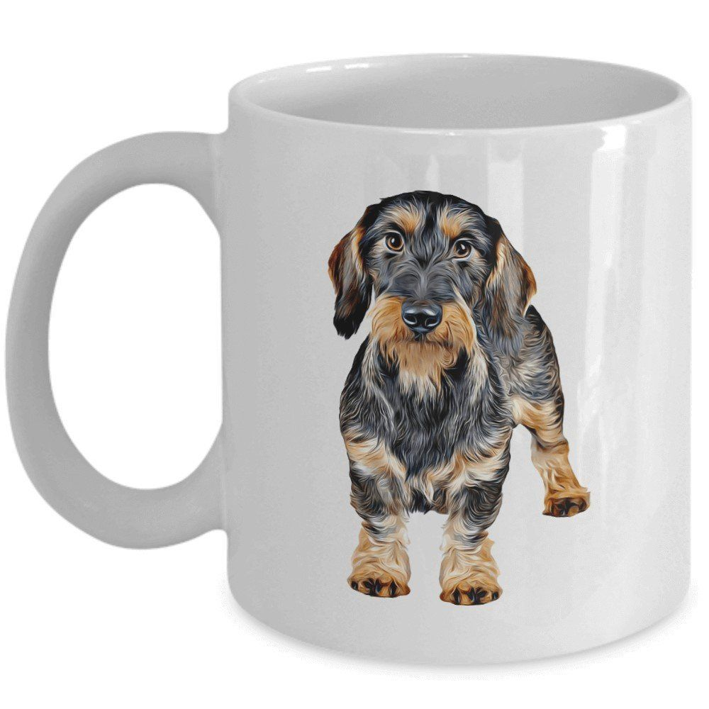 Wirehaired Dachshund Mug - I Am Proud To Have A Wire-haired ...