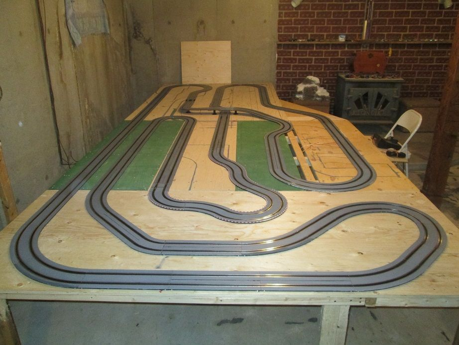 permanent carrera go track slotforum slot cars. Black Bedroom Furniture Sets. Home Design Ideas