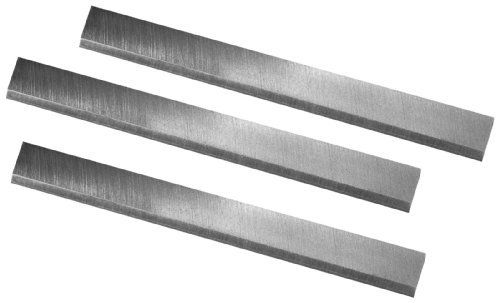 POWERTEC 148030 6-Inch HSS Jointer Knives for Delta 37-190 37-195 Set of 3