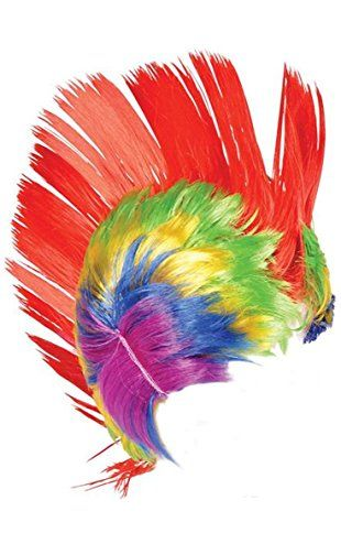TooLoud Horizontal Rainbow Gradient Printed White Neck Tie All Over Print