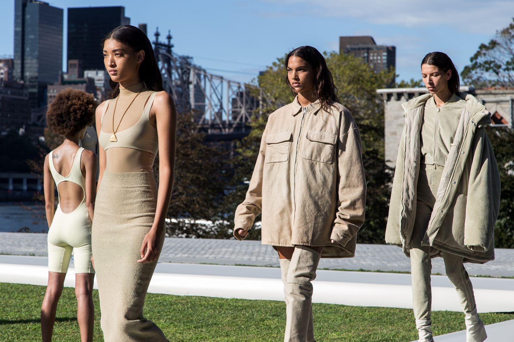 Kanye West S Yeezy Season 4 Brought Sunshine To An Urban Dystopia Yeezy Fashion Yeezy Fashion Women Yeezy Season