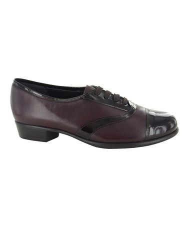 Look What I Found On Zulily Wine Ascot Leather Oxford By Munro