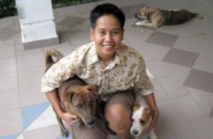 Non Muslim Malays Dogs Dog Gifs Dog Trainer