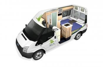 2 Berth Deluxe Ford Transit Shower Toilet Motorhome Vehicle Hire
