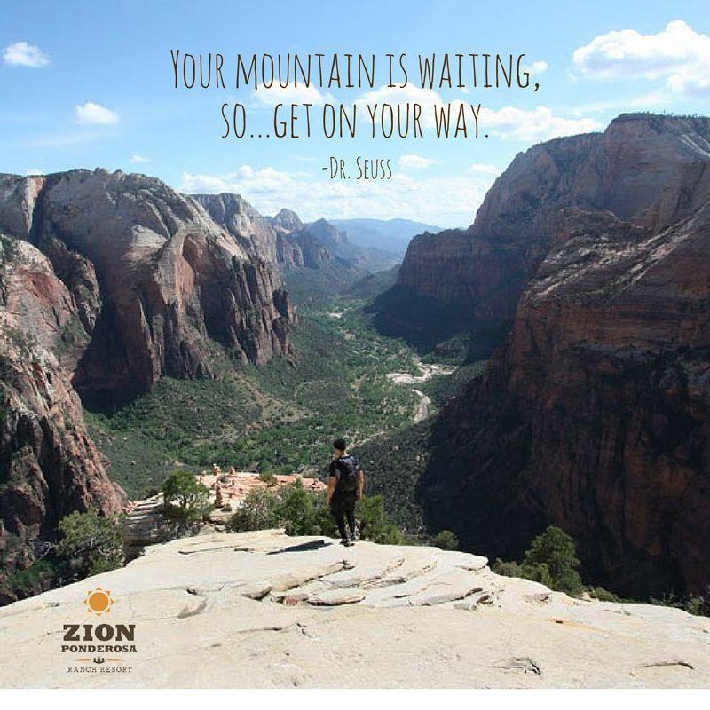 Zion National Park Quotes: Funny Zion Captions