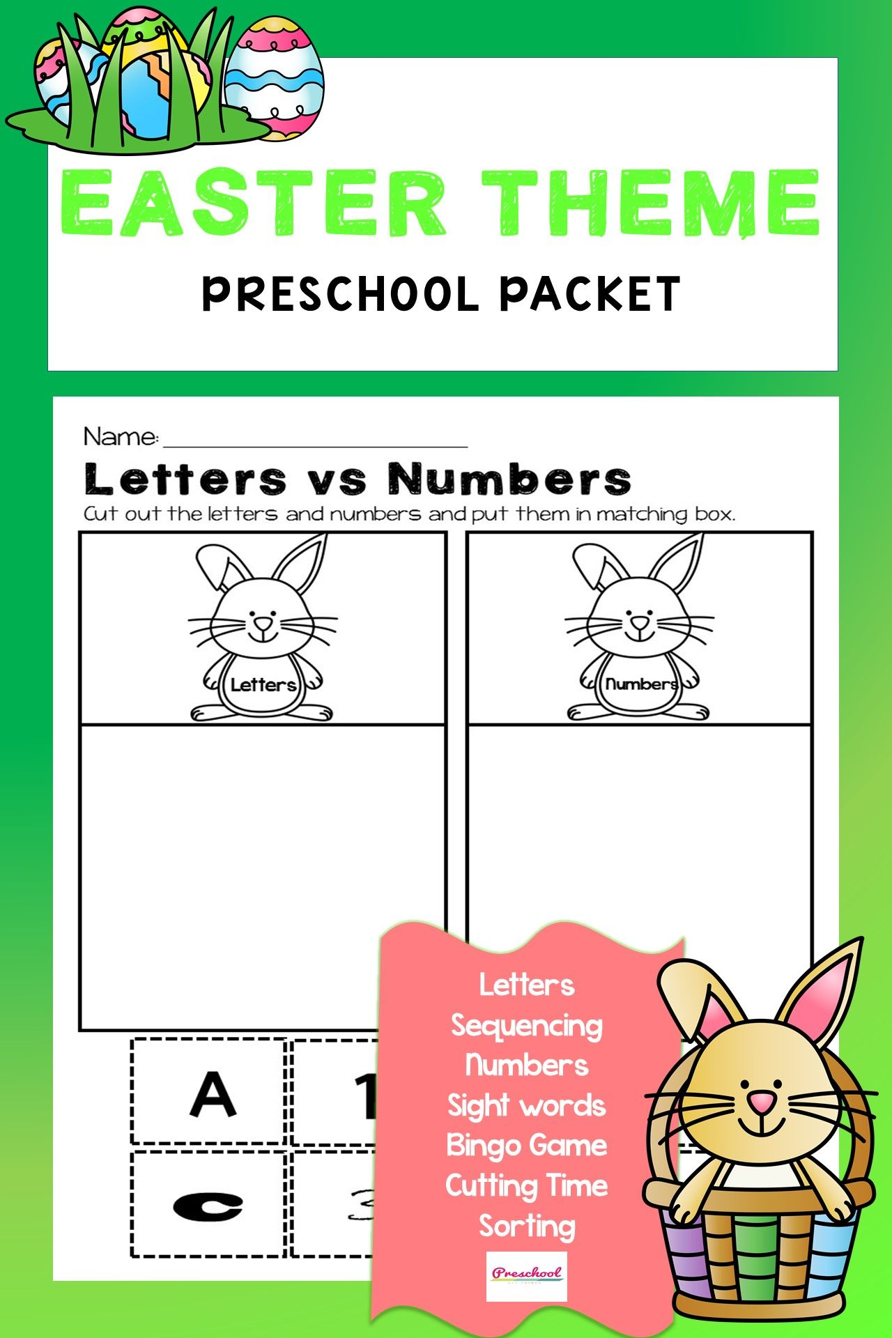 Easter Theme Packet In