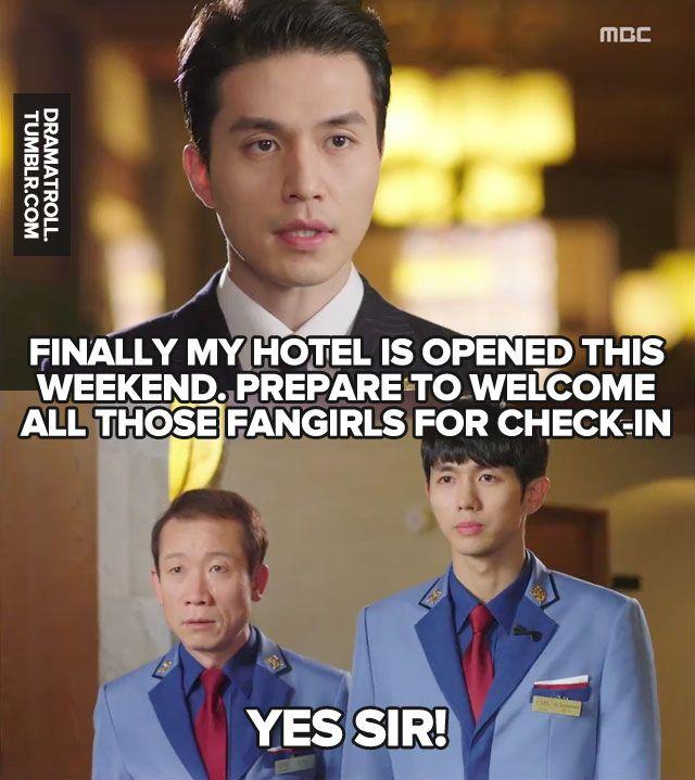 Hahaha Hotel King Dramatroll Drama Memes Korean Drama Movies