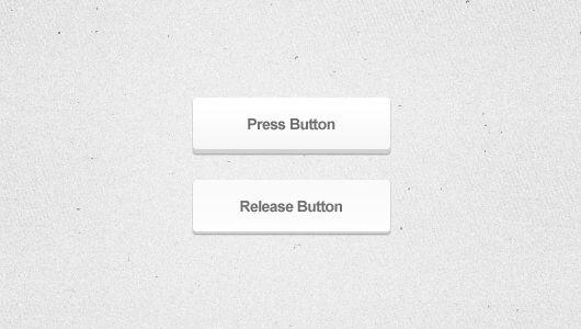 3d White Web Button (Psd)