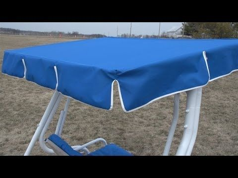 How to make a replacement swing canopy pinterest canopy swings how to make a replacement swing canopy do it yourself advice blog solutioingenieria Choice Image