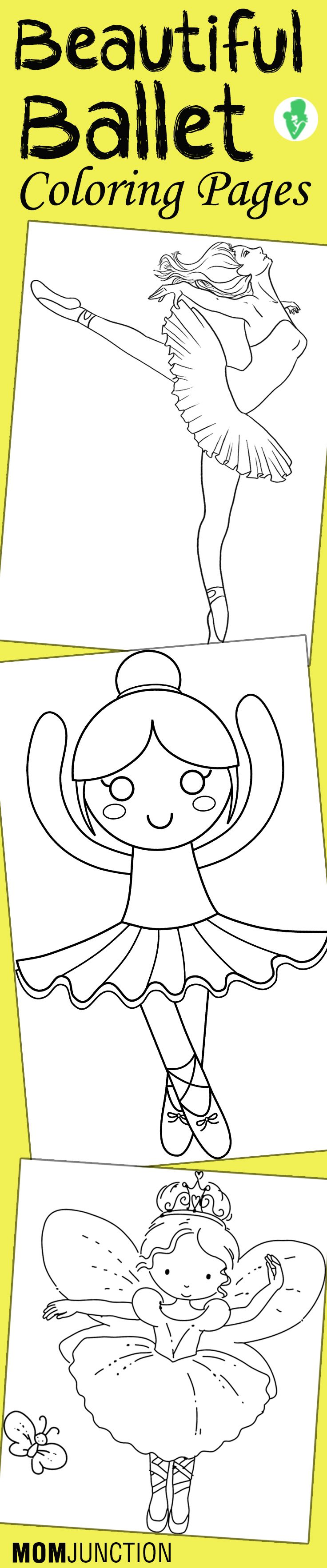 Top 10 Free Printable Beautiful Ballet Coloring Pages