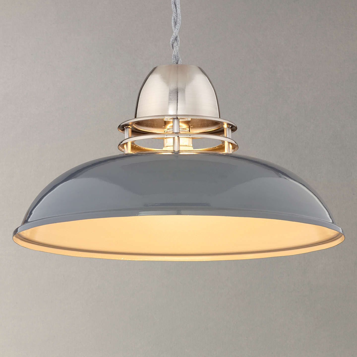 John Lewis & Partners Carmine Easy-to-Fit Ceiling Shade