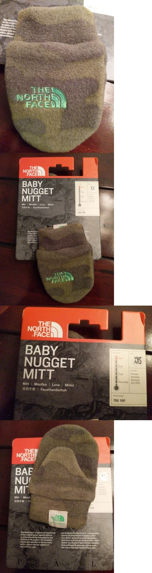3e1501b79 The North Face Baby Nugget Mitt Mittens XXS NWT camouflage camo ...