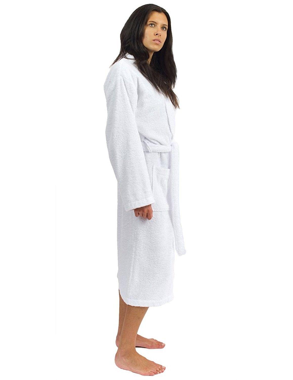 6bd272bec3 Women s Robe Turkish Cotton Terry Kimono Bathrobe Made in Turkey ...