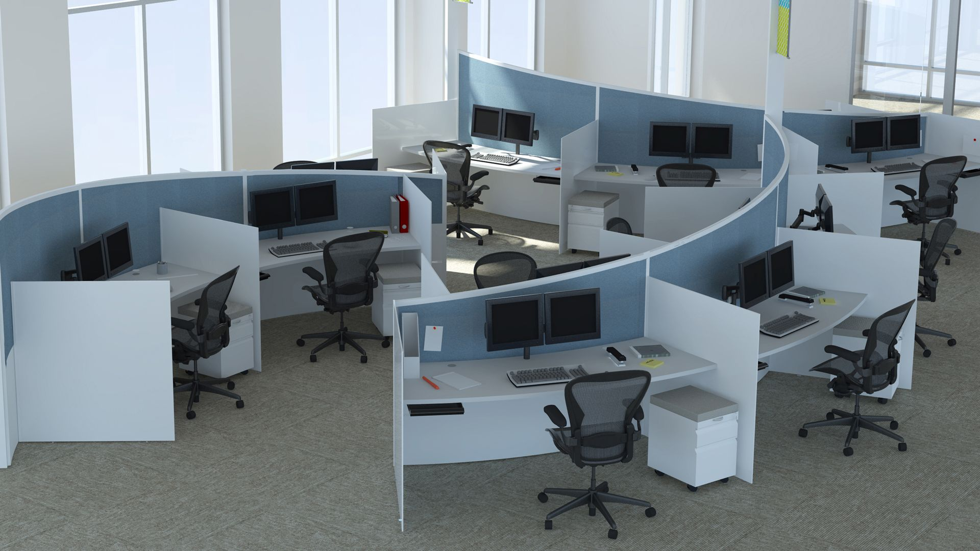 creative #collaborative workstations | corporate design