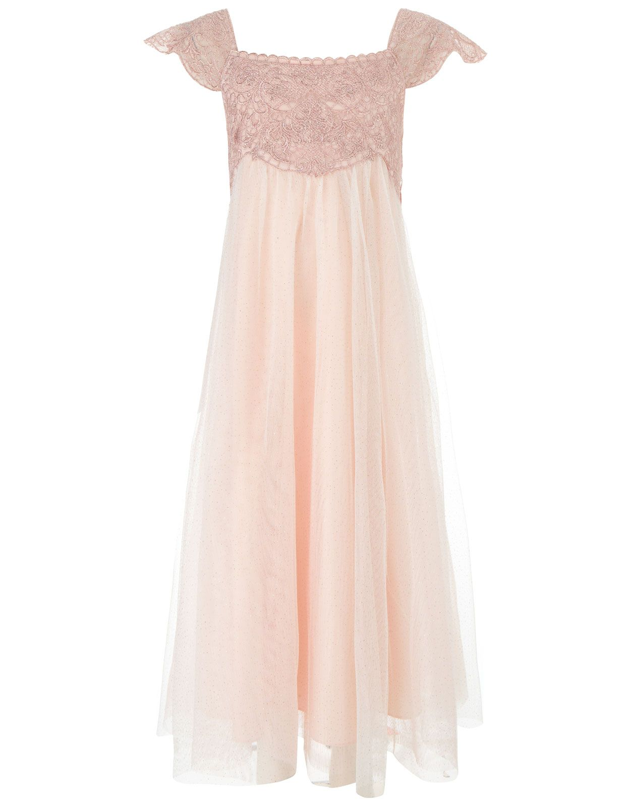 Estella sparkle dress pale pink also comes in ivory fashion