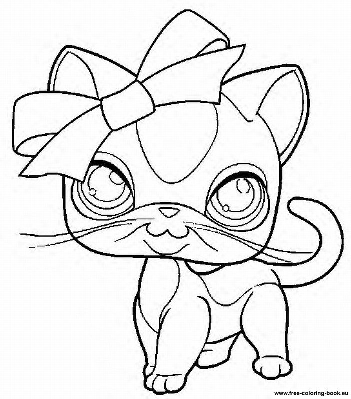 Pin By Briona Brown On Drawings Cat Coloring Page Lps Cats