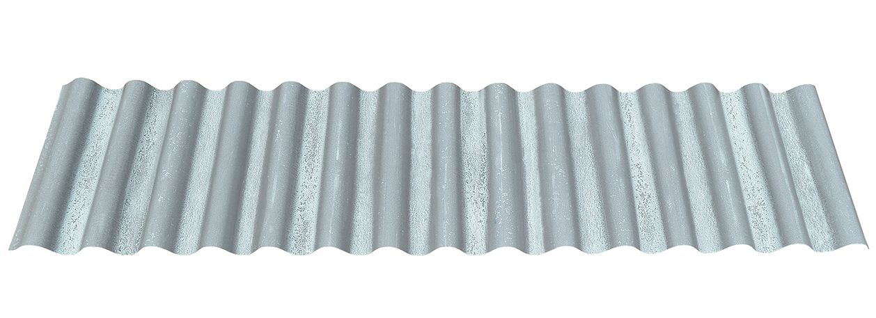 Best Streaked Blue Copper Patina Corrugated Metal Roofing 400 x 300