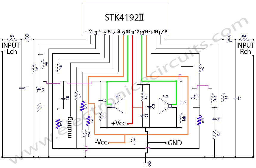 5a8d9b8f1d6375ddee59065c5d5fca78 stk4192 stereo power amplifier circuit diagram amplifier  at edmiracle.co