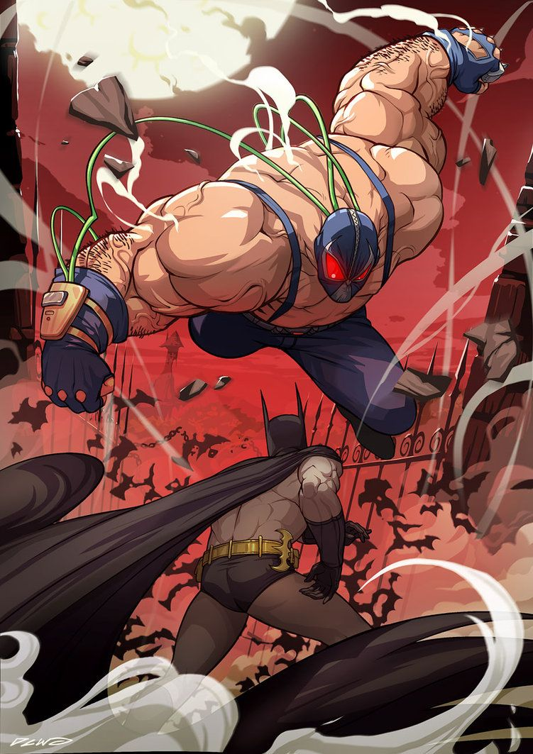 Here comes the Bane! by *dcwj on deviantART