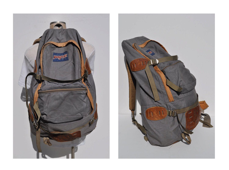 Jansport Leather Backpack – TrendBackpack