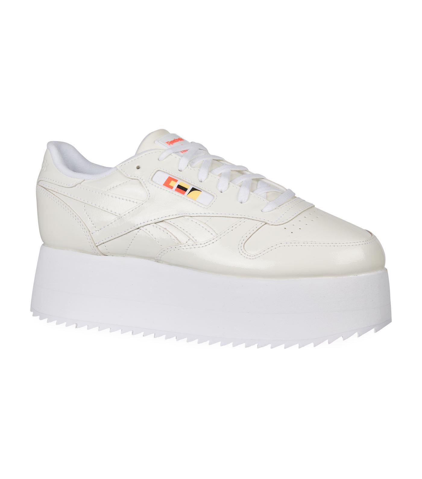 Gigi Hadid Triple Platform Sneakers