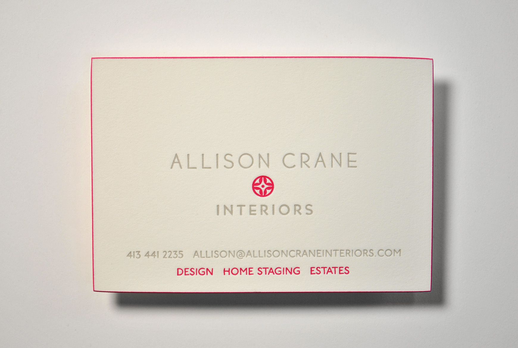 Printed for a crane family member these business cards are printed for a crane family member these business cards are letterpressed on pearl white stock colourmoves