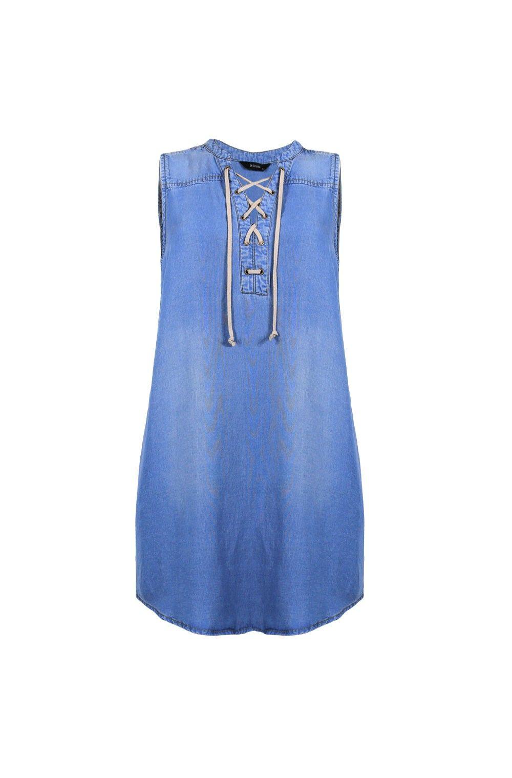 SOHO EYELET DRESS