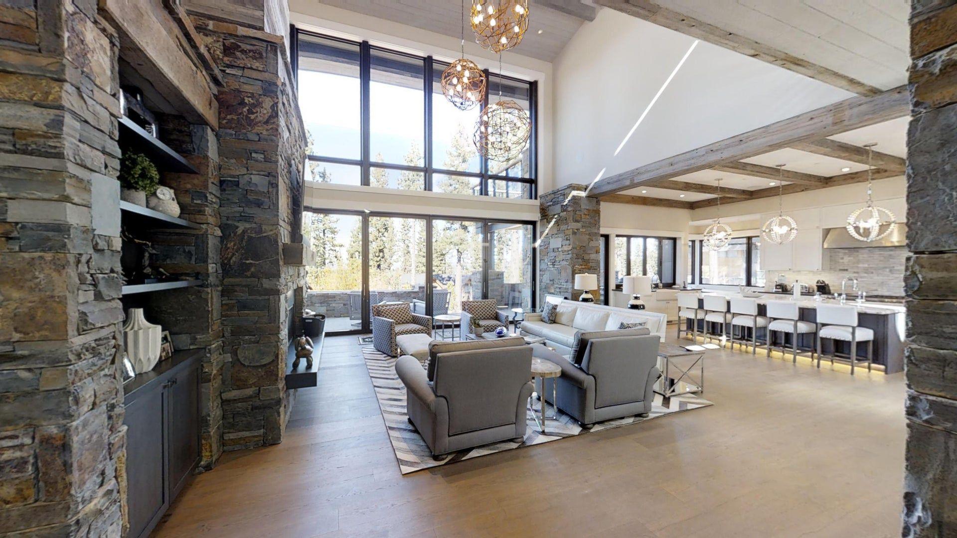 Matterport 3d Showcase Dream House Rooms Home Modern Glam Living Room