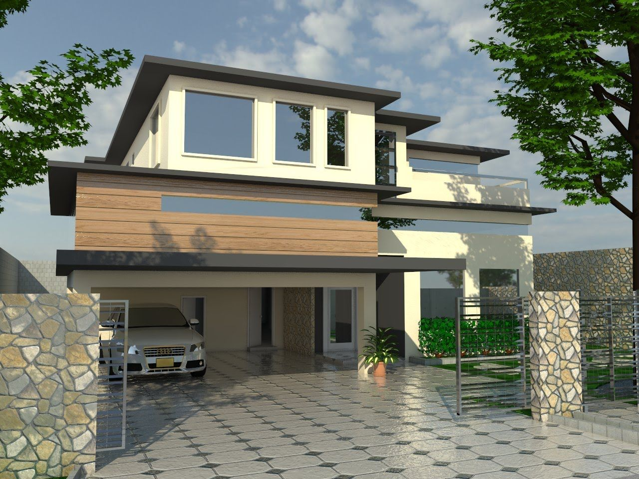 Merveilleux Sketchup Designsketchup House Rendering Part8 Youtube Luxury Sketchup