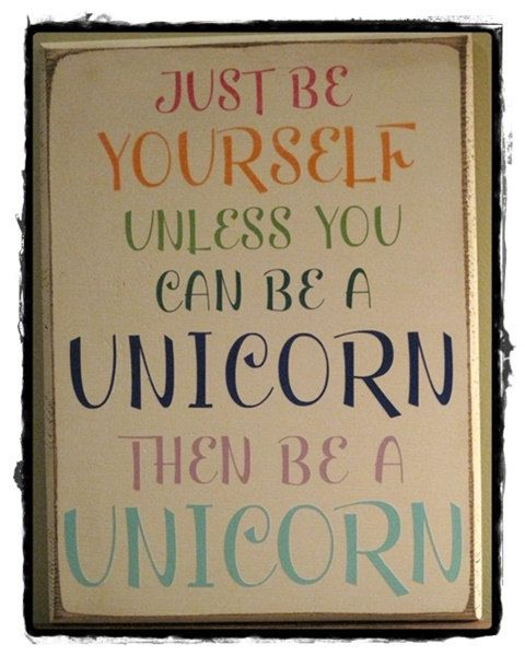 Unicorn Sign 11 5 Quot X 8 Quot Vinyl Ltrs Custom Sign Wall