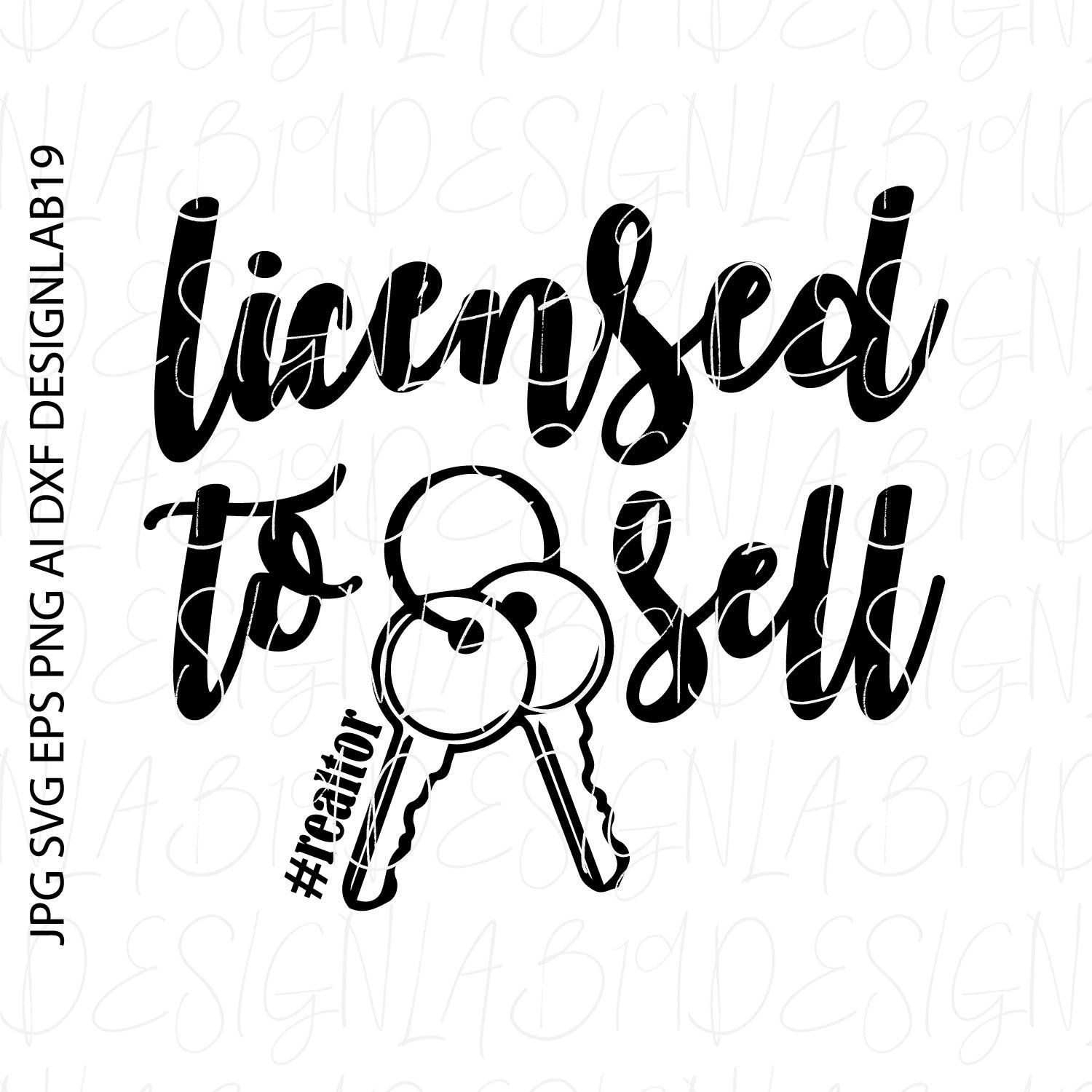 Licensed to sell svg realtor real estate land property