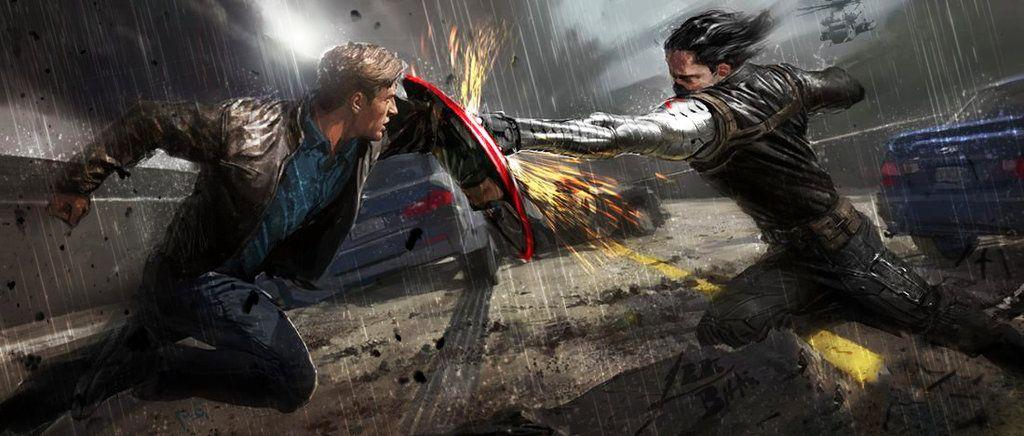 Captain America:Winter Soldier by captthelegend.deviantart.com on @deviantART
