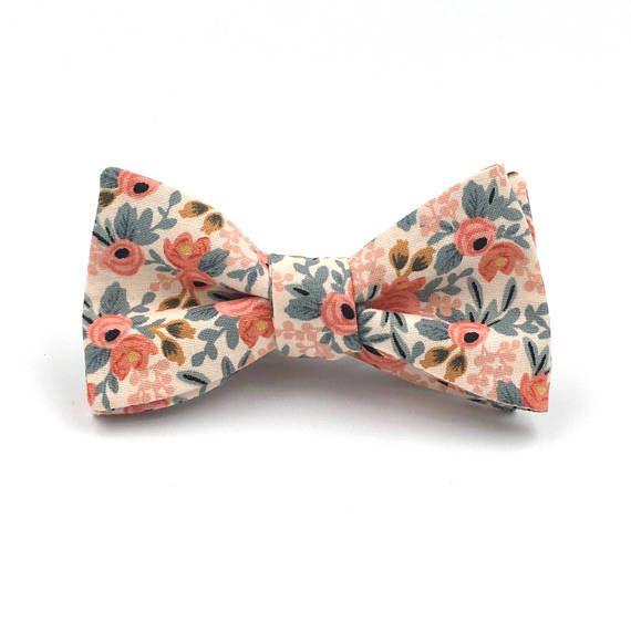 Fashion Men/'s Self Tie Cotton Bow Ties Adjustable Floral Tuxedo Bow tie Wedding