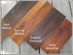 Stain Color Guide Minwax We Have 110 Year Old Heart Pine Floors Throughout The House Deciding On English Chestnut Porches Are White Oak Kitch