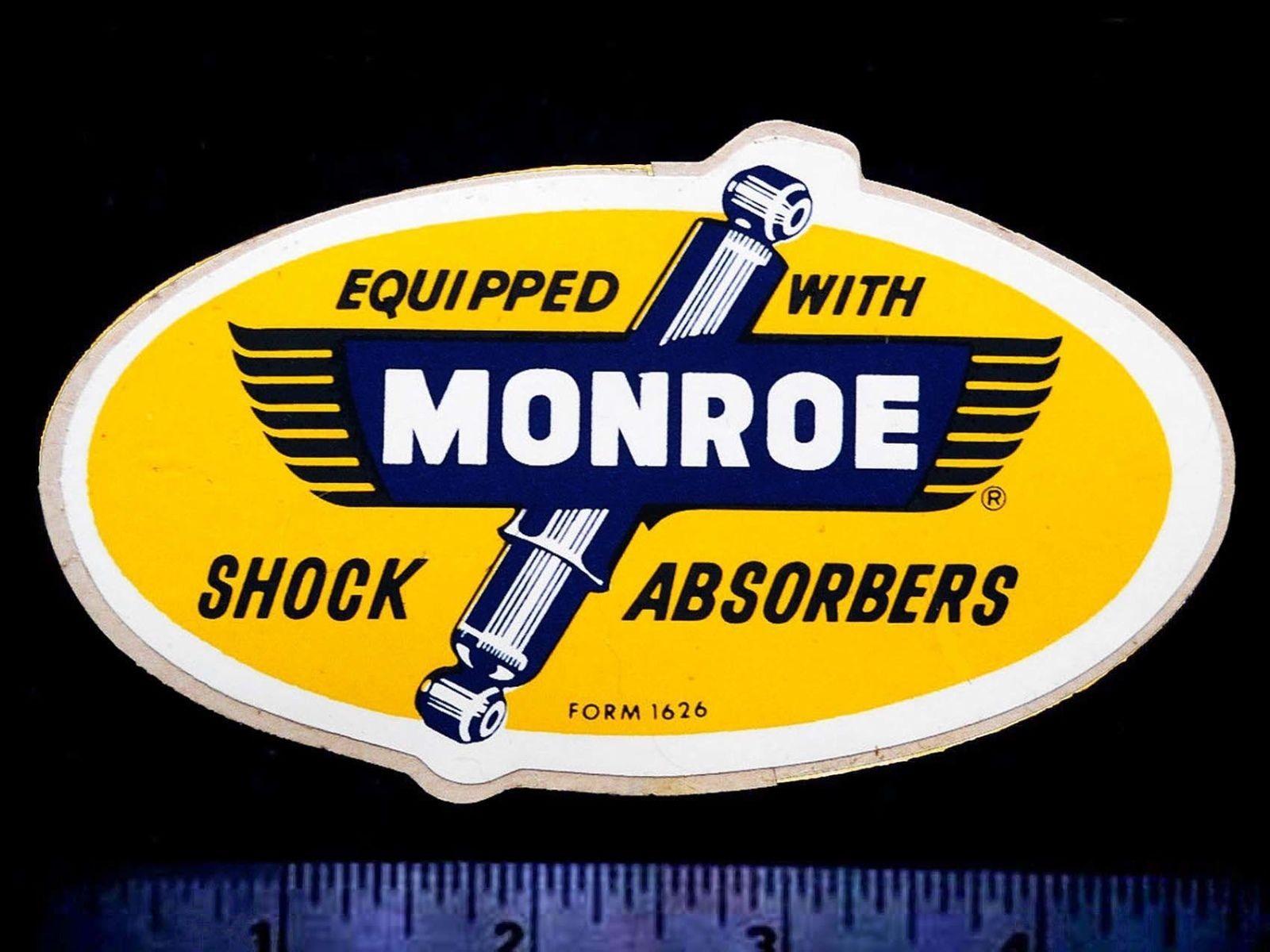 MONROE Shock Absorbers Original Vintage 1960's Racing