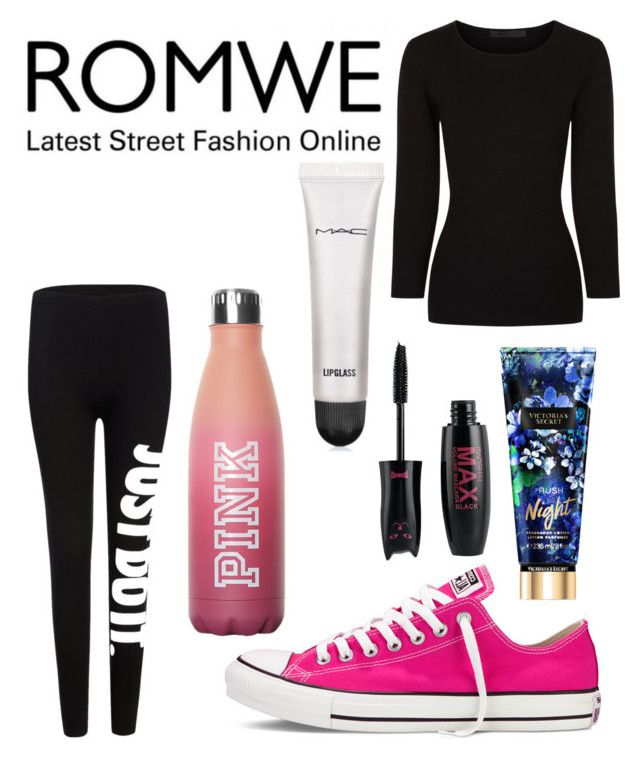 """Untitled #8830"" by ohnadine on Polyvore featuring Alexander Wang, Converse and MAC Cosmetics"