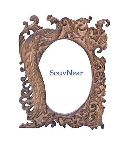 Souvnear Raw Wood Picture Frames 5 X 7 Photo Size Elegant Hand