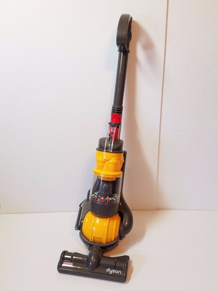 kid child play pretend casdon dyson ball vacuum cleaner toy real suction