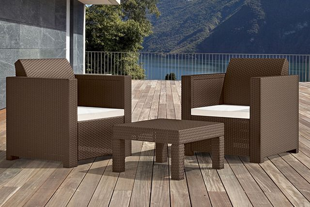 189 Instead Of Up To 229 43 From Norfolk Leisure For 3pc Outdoor Rattan Furniture Set Rattan Outdoor Furniture Rattan Furniture Set Outdoor Furniture Sets