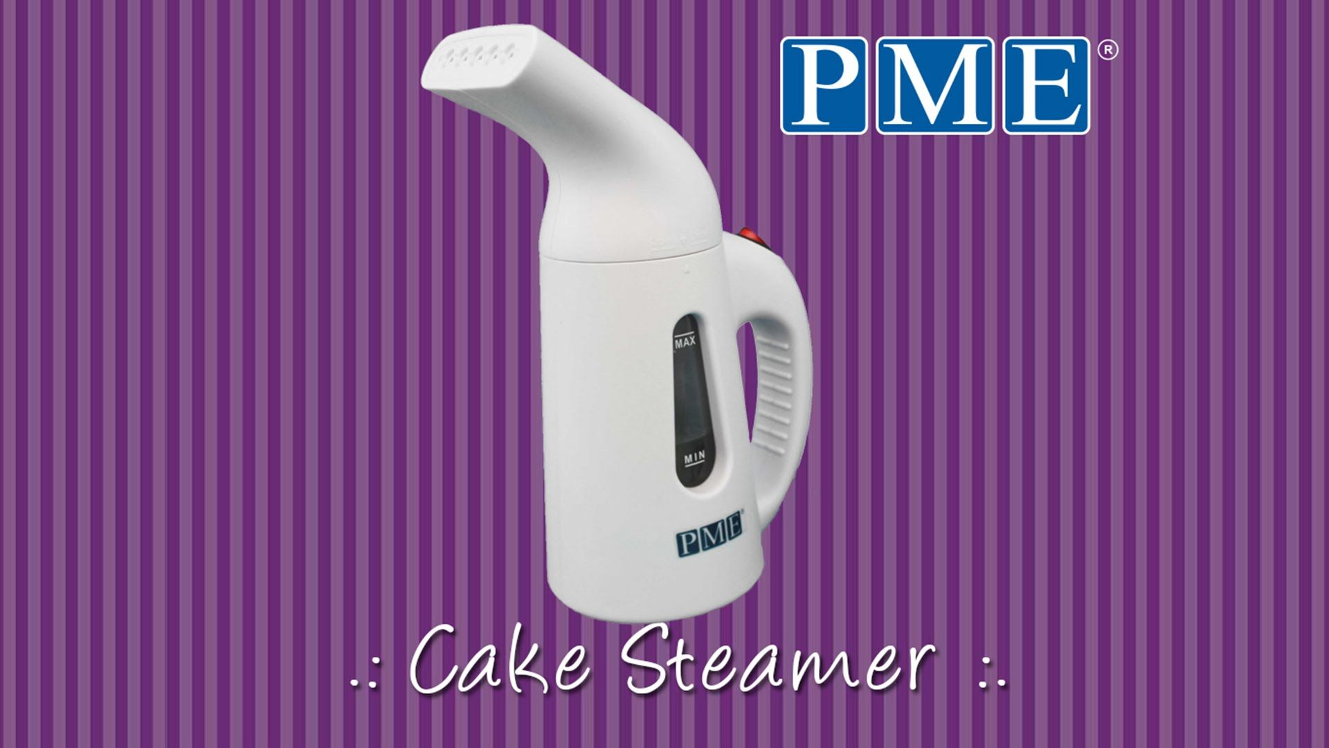 How to Use .: PME Cake Steamer | FMM, PME, SWEETWISE ...