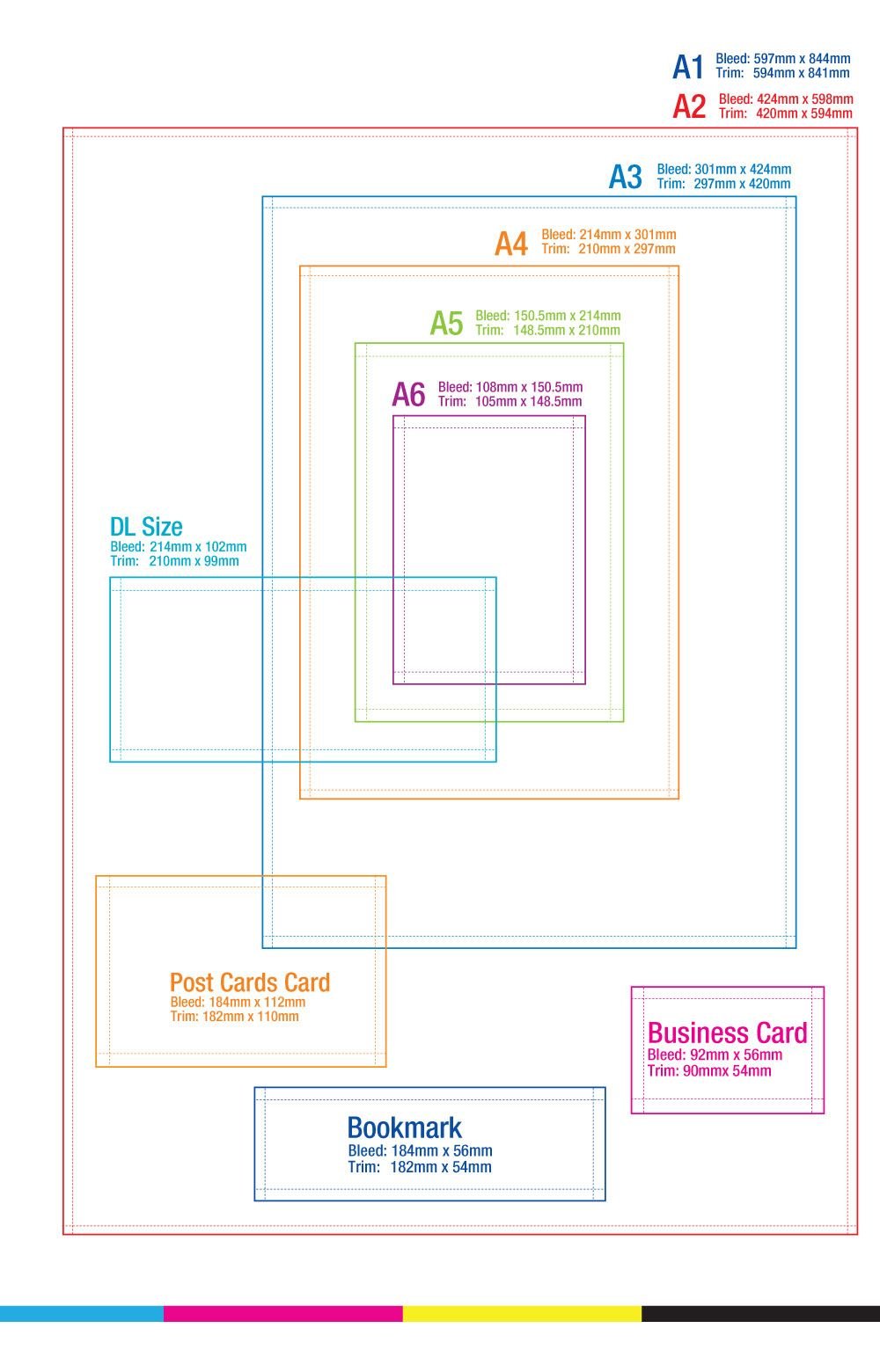 Online Printing Provider Printing Paper Size Paper Sizes Chart Paper Size Envelope Size Chart
