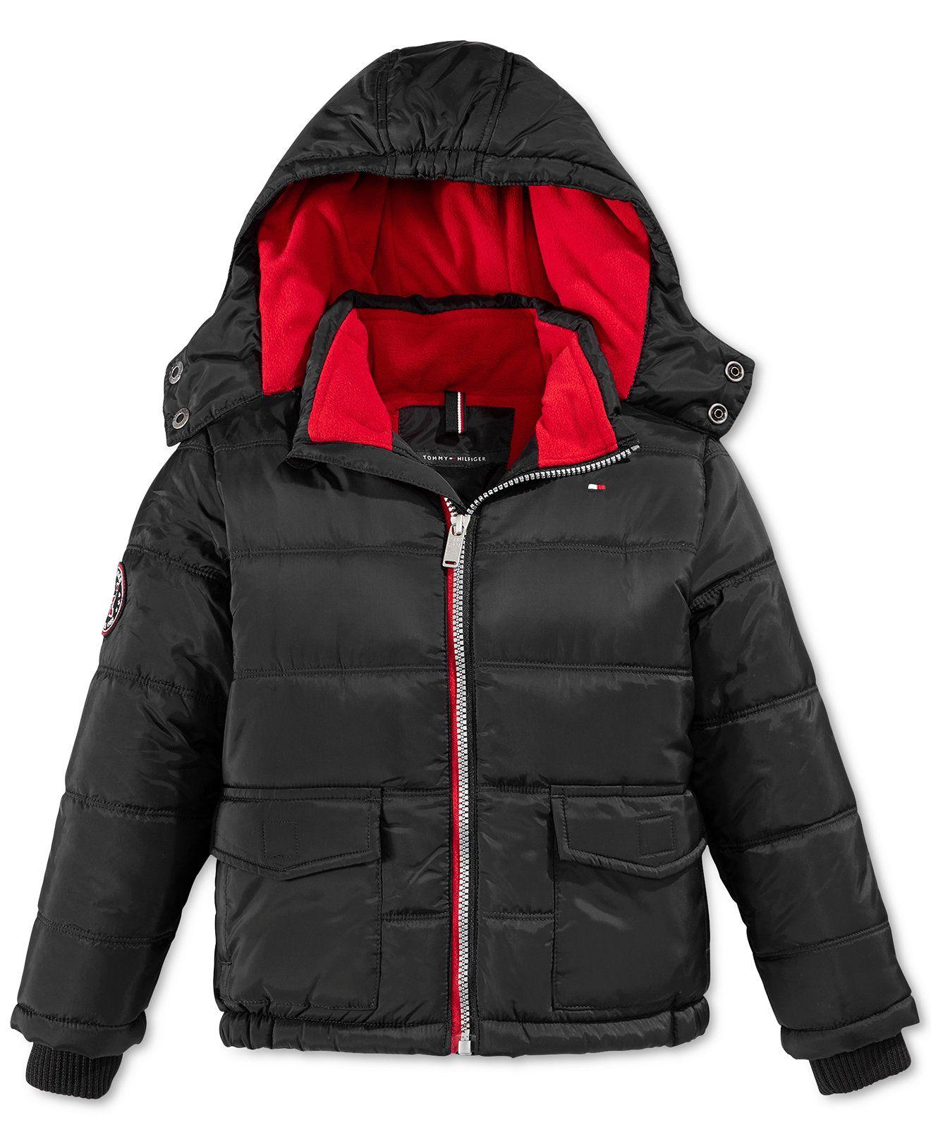 Tommy Hilfiger Little Boys Puffer Jacket Kids Baby Macy S Boys Puffer Jacket Puffer Jackets Jackets [ 1616 x 1320 Pixel ]