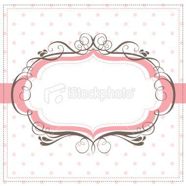 cute swirl banner Royalty Free Stock Vector Art Illustration