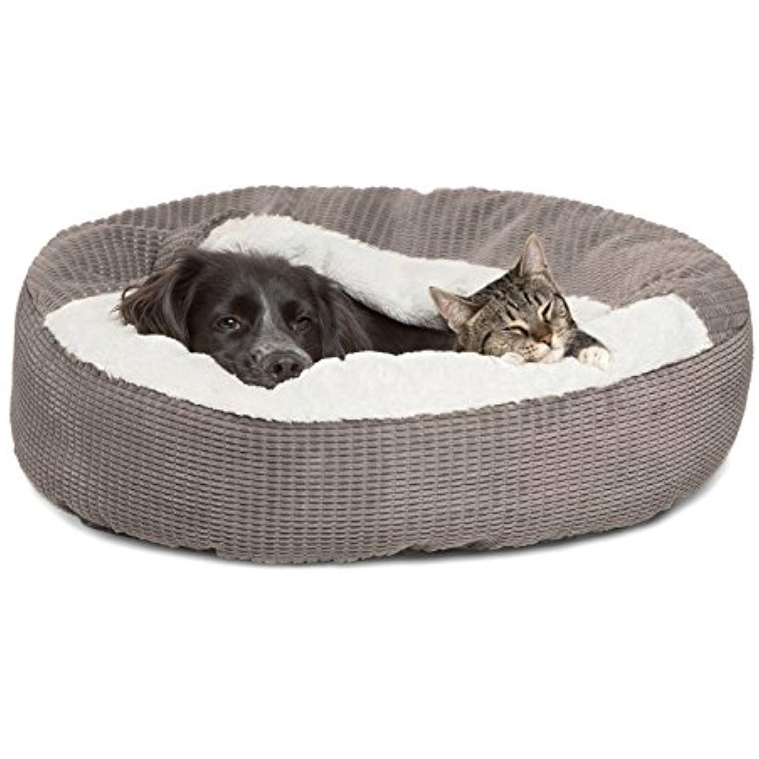 Best Friends By Sheri Cozy Cuddler In Mason Dog Cat Bed 26 X 26