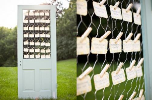 Organisation mariage : Présenter son plan de table
