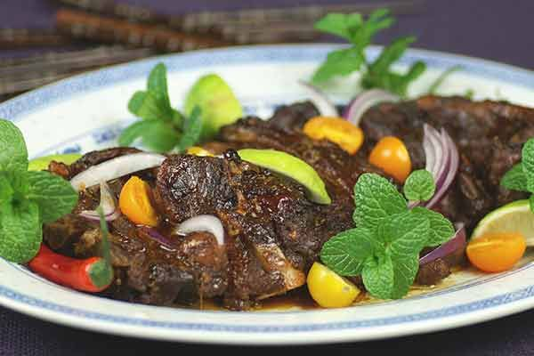 Slow-cooked hoisin lamb chops – Recipes – Bite