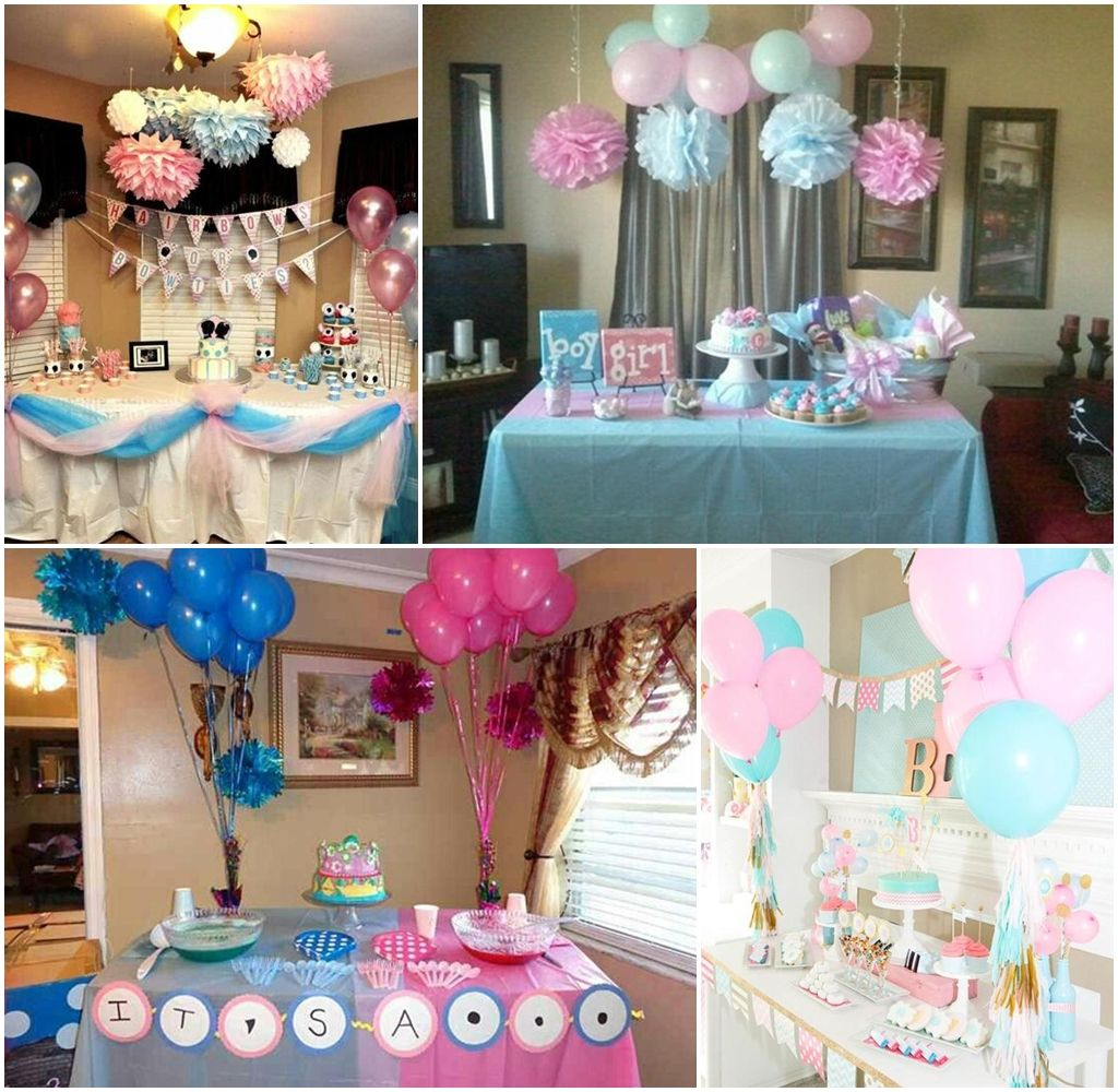 Baby Shower Gender Reveal Party Ideas